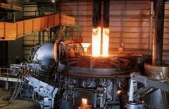 How does an Electric Arc Furnace for Electrode Handling work in the Steel Process?