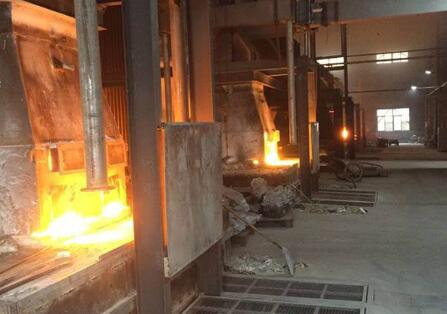 Graphite electrode news: Fangda graphite electrodes roasting factory was built and put into operation