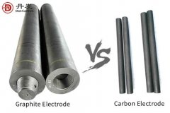 Difference between graphite electrode vs carbon electrode