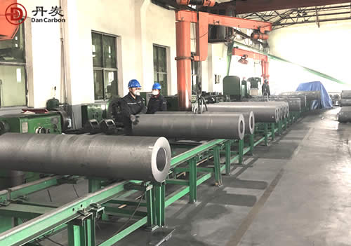 China 500mm graphite electrode factory