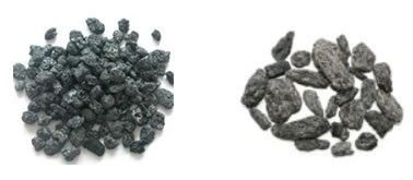 Petroleum coke, needle coke (raw material)