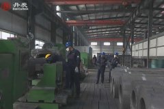 Production of graphite electrodes for steel making